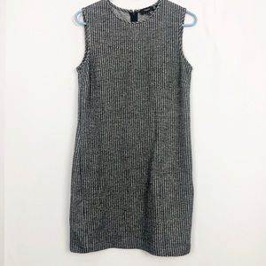 Theory Heathered Gray Shift Dress